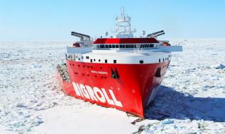 bigroll barentsz, льды, ямал-спг, тяжеловоз, арктика