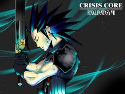 аниме, final fantasy, солдат, zack, fair, воин, меч, оружие