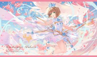 аниме, card captor sakura, девушка