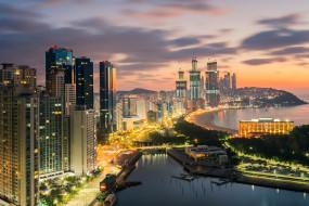 busan city,  south korea, города, - панорамы, простор