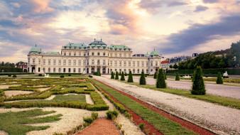belvedere palace, города, прага , Чехия, простор