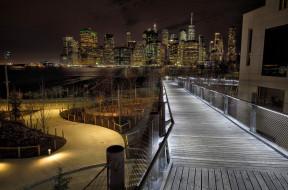 brooklyn bridge park, города, - мосты, простор