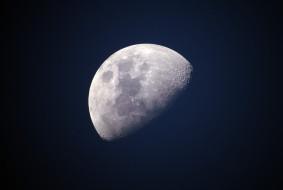 космос, moon, Луна
