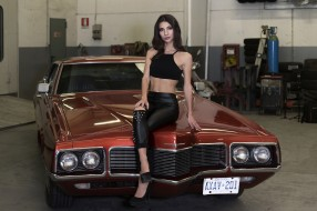 автомобили, -авто с девушками, авто, девица