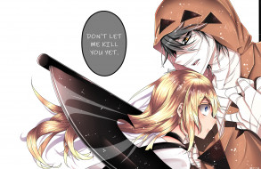 Satsuriku no Tenshi, парень, девушка, Ангел кровопролития