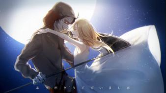 парень, Satsuriku no Tenshi, девушка, Ангел кровопролития