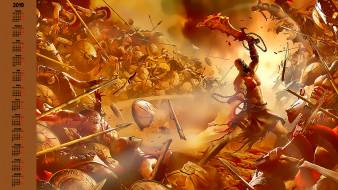человек, воин, доспехи, битва, оружие, мужчина