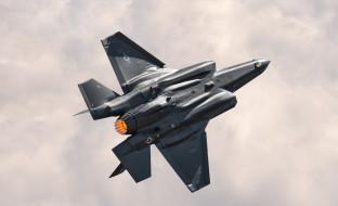 f-35a lightning ii, авиация, боевые самолёты, f-35a, lightning, ii, военные, самолеты, истребитель