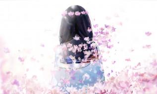 аниме, unknown,  другое , девушка