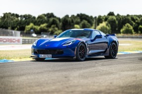 Шевроле, синий, Corvette Grand Sport