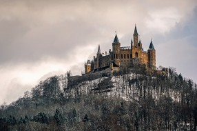 Замок Гогенцоллерн, Германия, природа