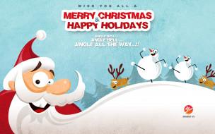 праздничные, дед мороз,  санта клаус, дед, мороз, новый, год, праздники