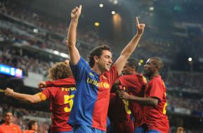 стадион, радость, Реал, футболисты
