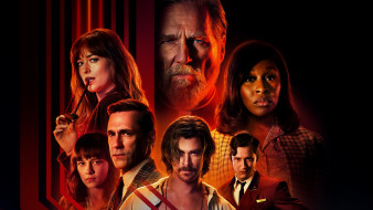 2018, триллер, крис хемсворт, джон хэмм, bad times at the el royale, детектив, дакота джонсон