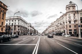 города, минск , беларусь, улица