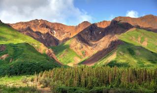 обои для рабочего стола 2048x1223 природа, горы, вершины