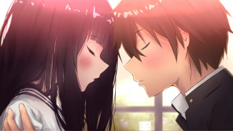 аниме, hyouka, романтика