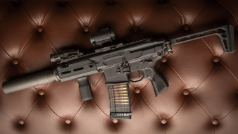 weapon, глушитель, винтовка, м16, custom, ar-15, assault Rifle, m16, assault rifle