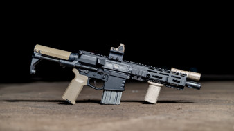 assault rifle, ar-15, weapon, винтовка, м16, custom