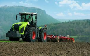 claas хerion 4000, трактор, сельскохозяйственная техника