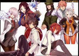 аниме, fate, stay night, судьба, великая, кампания
