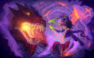 фэнтези, драконы, дракон, существо, фон, оружие, бой