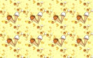 десерт, мороженое, текстура, фон