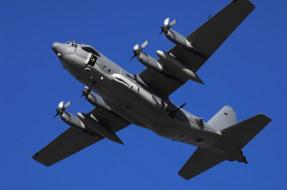 военный самолет, небо, wallhaven, lockheed ac-130 spectre