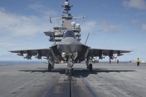 пятое поколение, истребитель, бомбандировщик, авианосец, f-35, lightning
