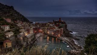 дома, Италия, Вернацца, море