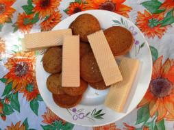 вафли, печенье, еда