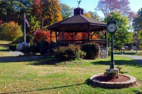 парк, беседка