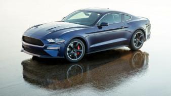 2019 ford mustang bullitt kona blue, автомобили, mustang, bullitt, 2019, ford, kona, blue, купе, форд, мустанг