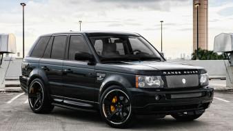 range rover, джип, внедорожник, wallhaven, черный