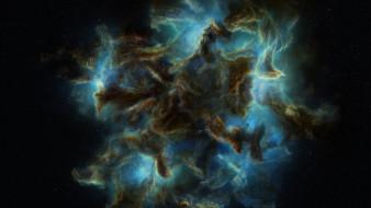 космос, галактики, туманности, звезды, туманность