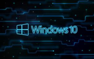 обои для рабочего стола 2560x1600 компьютеры, windows  10, фон, логотип