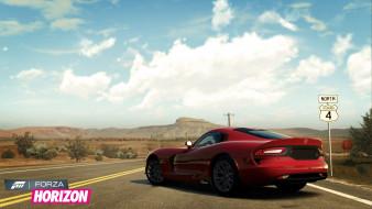 видео игры, forza horizon, гонки, трасса, фон, автомобиль