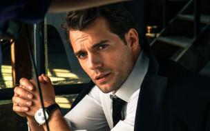 костюм, актер, Henry Cavill, галстук, часы