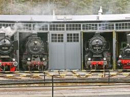 техника, паровоз, поезд