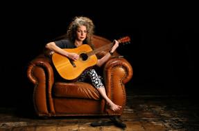 женщина, музыка, гитара, Marynell