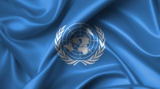 карта, Флаг, ООН
