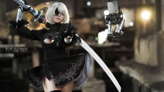разное, cosplay , косплей, 2b, nier, automata, cosplay