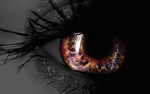 глаз, ресницы