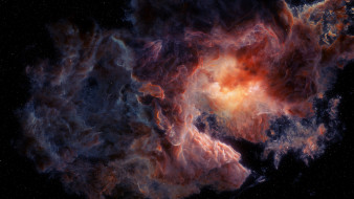 галактика, туманность, вселенная, звезды