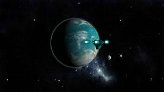 галактики, полет, космический корабль, вселенная