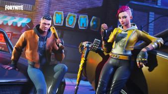 видео игры, fortnite, ролевая, action