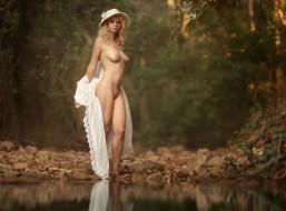 эротика, блондинки, красивая, девушка