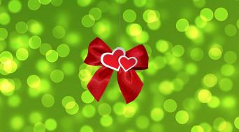 праздничные, день святого валентина,  сердечки,  любовь, сердечки, лента