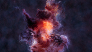туманность, галактика, вселенная, звезды