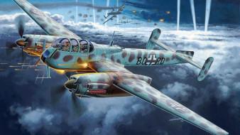 немецкий самолёт-разведчик, Ar 240 C-2, Arado, Люфтваффе